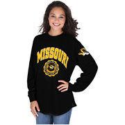 Women's Black Missouri Tigers Edith Long Sleeve Shirt