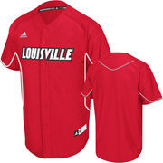 adidas Louisville Cardinals Red Premier Baseball Jersey