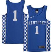 Youth Nike #1 Royal Kentucky Wildcats Basketball Jersey