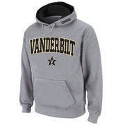 Men's Stadium Athletic Gray Vanderbilt Commodores Arch & Logo Pullover Hoodie