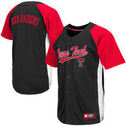 Men's Texas Tech Red Raiders Scarlet Dugout Baseball Jersey