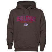 Fresno State Bulldogs Double Time Pullover Hoodie - Charcoal