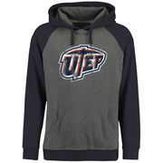 Men's Ash/Navy UTEP Miners Classic Primary Pullover Hoodie