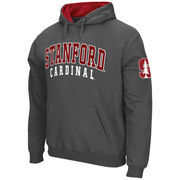 Men's Stadium Athletic Charcoal Stanford Cardinal Double Arches Pullover Hoodie