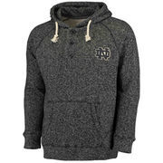 Men's Colosseum Charcoal Notre Dame Fighting Irish Roadster Pullover Hoodie