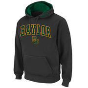 Men's Stadium Athletic Charcoal Baylor Bears Arch & Logo Pullover Hoodie