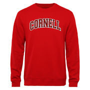 Men's Red Cornell Big Red Arch Name Crewneck Sweatshirt