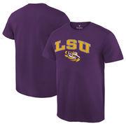 Men's Fanatics Branded Purple LSU Tigers Campus T-Shirt