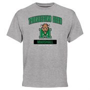 Marshall Thundering Herd Campus Icon T-Shirt - Ash
