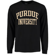 Men's Champion Black Purdue Boilermakers University Long Sleeve T-Shirt