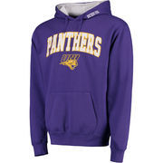 Men's Purple Northern Iowa Panthers Arch & Logo Pullover Hoodie
