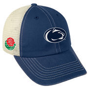 Men's Top of the World Navy Penn State Nittany Lions 2017 Rose Bowl Bound Trucker Adjustable Hat