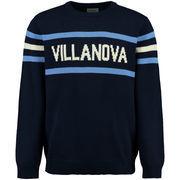 Men's Hillflint Navy Villanova Wildcats Stadium Crew Neck Sweater