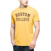 Men's '47 Brand Gold Boston College Eagles Vintage Scrum T-Shirt