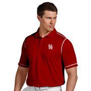 Men's Antigua Red Houston Cougars Icon Polo