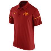 Men's Nike Cardinal Iowa State Cyclones Team Issue Dri-FIT Polo