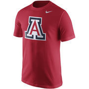 Men's Nike Cardinal Arizona Wildcats Logo T-Shirt