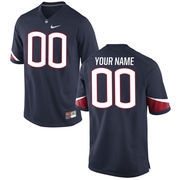 Men's Nike Navy UConn Huskies Custom Replica Jersey