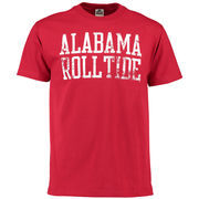 Men's Crimson Alabama Crimson Tide Straight Out T-Shirt