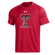 Men's Under Armour Red Texas Tech Red Raiders 2016 On-Field Tech T-Shirt