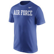 Men's Nike Royal Air Force Falcons Wordmark T-Shirt
