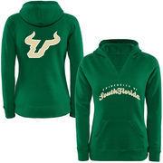 Women's South Florida Bulls Oversize Script Logo Hoodie Sweatshirt
