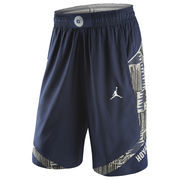 Men's Nike Navy Georgetown Hoyas Authentic On-Court Performance Basketball Shorts