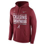 Men's Nike Crimson Alabama Crimson Tide 2016 College Football Playoff Bound Chasing Greatness Pullover Hoodie