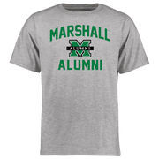 Men's Ash Marshall Thundering Herd Alumni T-Shirt