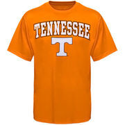 Men's New Agenda Tennessee Orange Tennessee Volunteers Arch Over Logo T-Shirt