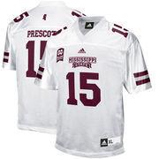 Men's adidas Dak Prescott White Mississippi State Bulldogs Alumni Player Jersey