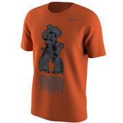 Men's Nike Orange Oklahoma State Cowboys Fan T-Shirt