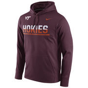 Men's Nike Maroon Virginia Tech Hokies Circuit Pullover Performance Hoodie