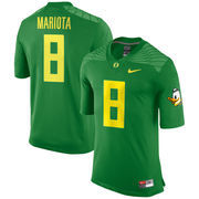 Nike Marcus Mariota Oregon Ducks Apple Green Alumni Football Game Jersey