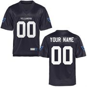 Villanova Wildcats Personalized Football Name & Number Jersey - Navy Blue