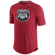 Men's Nike Heathered Red Georgia Bulldogs Player Performance T-Shirt