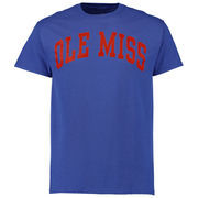 Men's New Agenda Royal Ole Miss Rebels Arch T-Shirt