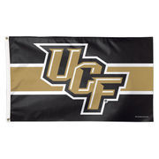 WinCraft UCF Knights Logo Stripe Deluxe 3' x 5' Flag