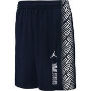 Men's Brand Jordan Navy Georgetown Hoyas On-Court Basketball Shorts