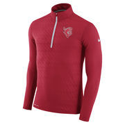 Men's Nike Red Rutgers Scarlet Knights Dry Element Half-Zip Performance Jacket