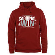 Men's Cardinal Stanford Cardinal 2016 Rose Bowl Champions  Flavor Pullover Hoodie