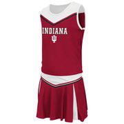 Girls Youth Colosseum Crimson Indiana Hoosiers Aerial Cheer Set