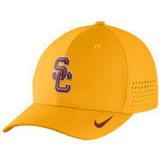 Men's Nike Gold USC Trojans Sideline Vapor Coaches Performance Flex Hat