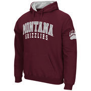 Men's Stadium Athletic Maroon Montana Grizzlies Double Arches Pullover Hoodie