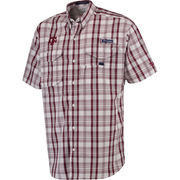 Men's Columbia Maroon Texas A&M Aggies Super Bonehead Omni-Shade Shirt