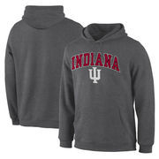 Men's Fanatics Branded Charcoal Indiana Hoosiers Campus Pullover Hoodie