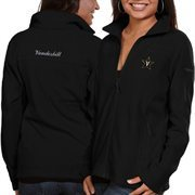 Women's Vanderbilt Commodores Columbia Black Give & Go Full Zip Jacket