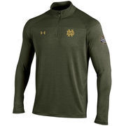Men's Under Armour Green Notre Dame Fighting Irish 2016 Shamrock Series Tech Novelty Quarter-Zip Jacket