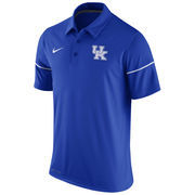 Men's Nike Royal Kentucky Wildcats Team Issue Dri-FIT Polo