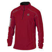 Men's Columbia Golf Garnet South Carolina Gamecocks Shotgun Quarter-Zip Pullover